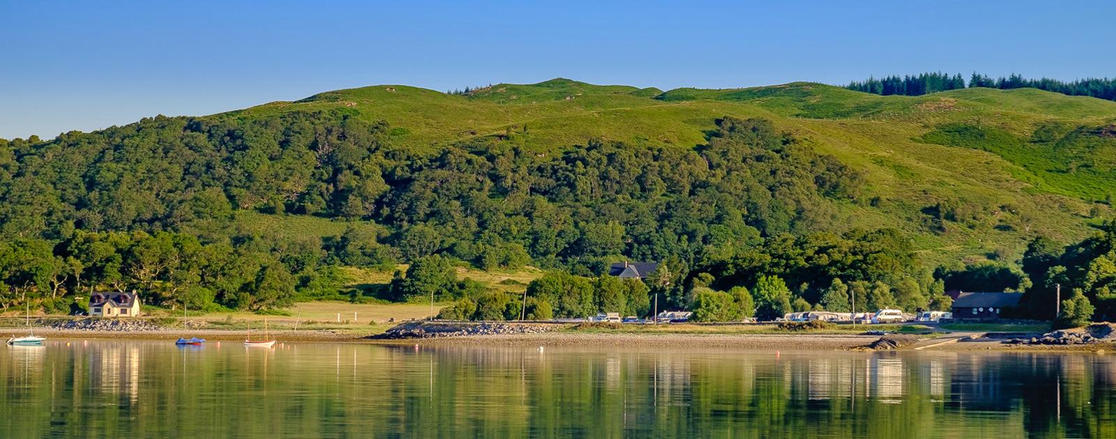 Resipole from Loch Sunart